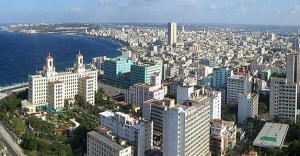 air-view-havana-Vedado